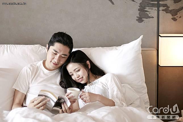各飯店推出愛侶住房方案,像是泡湯、搭情人塔、體驗手拉坏,加速甜蜜戀情(圖/礁溪寒沐酒店 提供)